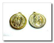 medalla de la Virgen de Fátima