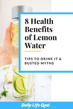 Benefits and busted myths of lemon water and how to drink lemon water. Nutrition Quotes, Nutrition Activities, Nutrition Plans, Nutrition Education, Nutrition Tips, Health And Nutrition, Shred 10, Drink Recipes, Healthy Recipes