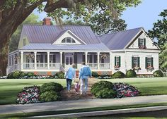 Country Plan: 2,010 Square Feet, 3 Bedrooms, 2.5 Bathrooms - 7922-00229