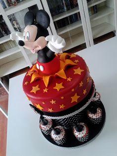 Tarta Mickey Mouse.