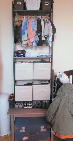 Ikea Hack: From Bookcase to Custom Closet