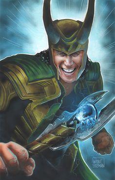 Loki painting.