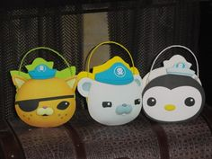 Octonauts Goodie Bags Birthday Party Favors