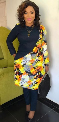 You love stylish wears like this and you want some for yourself? You love being You love stylish wears like this and you want some for yourself? - You love stylish wears like th African Blouses, African Maxi Dresses, Latest African Fashion Dresses, African Dresses For Women, African Print Fashion, African Attire, African Print Dress Designs, Ankara Designs, Ankara Styles