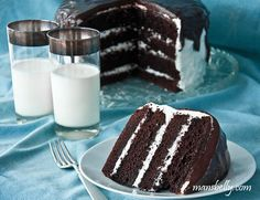 Guinness Chocolate Cake with a Touch of Irish Whiskey