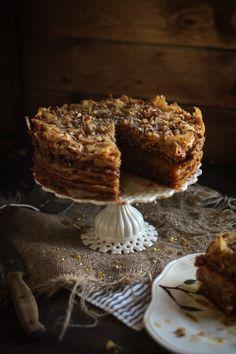 Adventures in Cooking: Baklava Cake