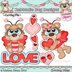 Cutie KaToodles - Valentine Bumble Bears