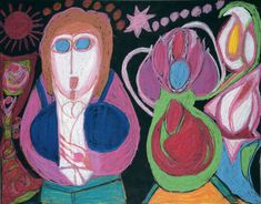 Lausanne, Augustin Lesage, Art Visionnaire, Cy Twombly, Art Brut, Piet Mondrian, Schizophrenia, Coloured Pencils, Naive Art