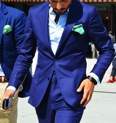 Huge fan of the color of this suit. So rich.