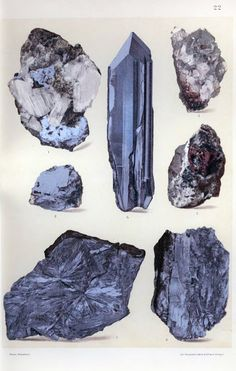 beautifully simple tool to create moodboards. Crystals Minerals, Rocks And Minerals, Crystals And Gemstones, Stones And Crystals, Crystal Illustration, Crystal Drawing, Nature Drawing, Rock Art, Vintage Prints