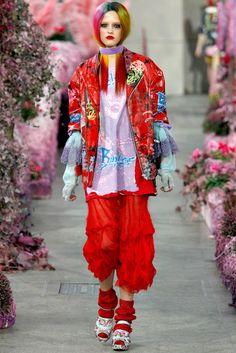 Meadham Kirchhoff Spring 2011 Ready-to-Wear Fashion Show - Maryna Buniaka