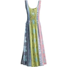 Batik Summer Dress - New Age, Spiritual Gifts, Yoga, Wicca, Gothic, Reiki, Celtic, Crystal, Tarot at Pyramid Collection