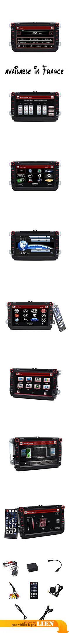 Pour VW Série d'Passat Golf Scriocco Touran Jetta EOS Seat Octavia Fabia, DVD GPS Navigation avec écran tactile 20,3cm PIP Bluetooth Répertoire Auto radio. 20,3cm 800* 480numérique haute définition TFT LCD écran tactile. Construit dans la navigation GPS, le support logiciel cartographique 2d/3d. Bluetooth intégré pour les appels mains libres; support A2DP; répertoire fonction. Avec commandes au volant, Auto fonction de visualisation arrière. Avec radio