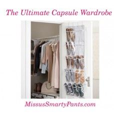 """This is the best formula for creating stylish wardrobe capsules. Get the """"how to's"""" plus lists for making it happen!"""