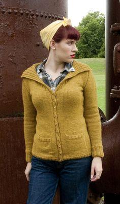 Armande cardigan : Winter 2013 knitty knitty knitty knitty different neckline?