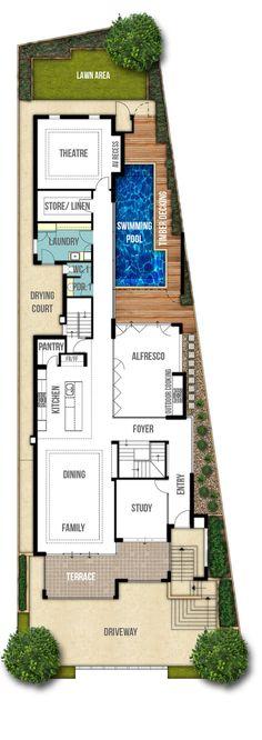 undercroft garage house design ground floor plan