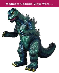 Medicom Godzilla Vinyl Wars Wave 12: Megaton Godzilla Sofubi Action Figure. From MEDICOM Toy X Marmit. Vinyl Wars is a collaboration between Japan's classic sofubi manufacturers and cutting-edge toy maker MEDICOM Toy. Each release in the GVW line is a reproduction of a classic Toho sofubi from the '60s through today, released legitimately for Western collectors for the first time ever. These hand-crafted, hand-painted figures inspired the designer toy movement, and will hold a place of…
