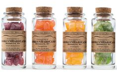 old sweets - My mom used to make rock candy and give it away in small jelly jars, we could make it in several flavors...????