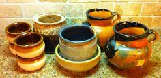 Handmade Pottery Finds!  Goodwill!