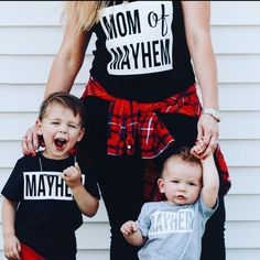 If this isn't the best picture I've ever seen. #momofmayhem #mayhem #masschaos…