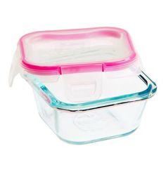 #Snapware® 1 Cup Glass Square w/ Total Solution™ Lid. Perfect for lunchtime! - Buy Now