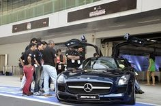 Here are some glimpses of the Corporate Star Grand Prix - Race to the chequered flag at the Buddh International Circuit where India's Top 16 CEOs mirror their boardroom skills on the race track.