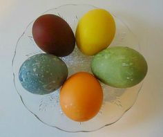 Homemade Natural Easter Egg Dyes - Easy to do with ordinary kitchen ingredients