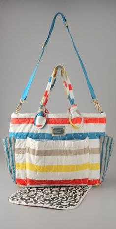 Marc By Marc Jacobs Pretty Nylon Elizababy Bag in White (talc)