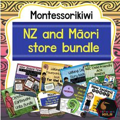 New Zealand and Māori teaching resources for primary school classrooms. Money saving bundle of lessons and activities in Te Reo and English.