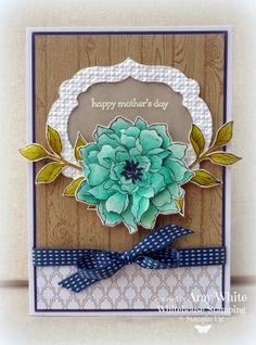 White House Stamping: Mother's Day Petals...