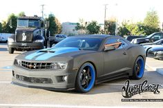 Line-X Camaro - by WCC. Has anyone else here been to West Coast Customs? I have.