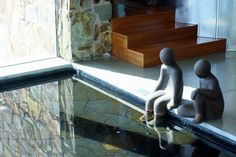 Pool sculptures