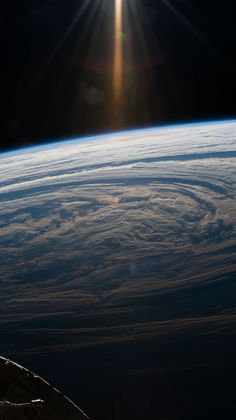 Picture of the day for April 03 2019 by Nasa An astronaut aboard the International Space Station snapped this image as the station flew 265 miles above this cloudy formation in the south Indian Ocean. Nasa Space Pictures, Hubble Pictures, Nasa Photos, Hubble Images, Space Photos, Nasa Earth Images, Space Images, Earth And Space, Hubble Space Telescope