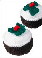 Free Crocher Christmas Pudding pattern by Yarn Christmas Project Sheets - Spotlight New Zealand