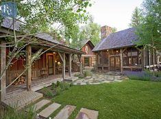 Rustic Landscaping, Rustic Backyard, Rustic Outdoor, Landscaping Ideas, Backyard Ideas, Rustic Home Design, Rustic Style, Modern Rustic, Landscape Arquitecture