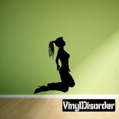Stripper Wall Decal - Vinyl Decal - Car Decal - 082
