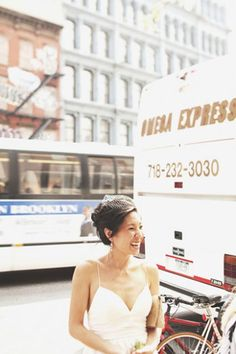 This laid-back Brooklyn wedding is modern bride perfection