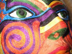 Mask  by Cathy Pfeil