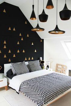 Pellmell Créations: Des murs qui mettent l'accent sur la couleur
