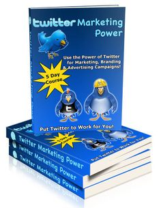 TWITTER MARKETING Power EBook Pack Lot by OCVintageArtCouture, $3.99