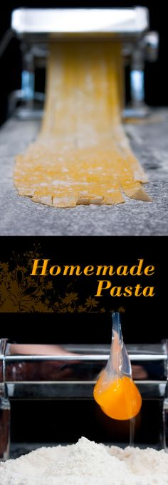 Homemade Pasta Recipe: What could be better than having a simple homemade pasta recipe that you can break out anytime you want!