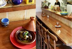 モロッコのレストランで働いた後、現地の料理研究家に師事したという小川歩美さん。「モロッコ料理は地中海料理の要素が高い。 Tokyo Restaurant, Love Food
