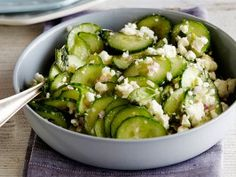 Greek Feta and Cucumber Salad from CookingChannelTV.com