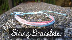 How to make wax string waterproof bracelets inspired by pura vida bracelets! https://www.youtube.com/watch?v=NLqGhepBxlQ  diy pura vida bracelets