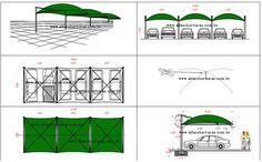 Projeto coberturas para estacionamento e sombreadores | ALFA Coberturas