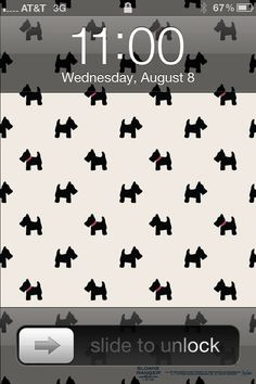 Free preppy scottie dog iPhone® and iPad® wallpaper downloads. http://www.sloaneranger.com/Customer-Service_5/download_wallpaper_from_sloane_ranger/