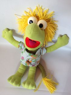 WEMBLEY Fraggle Rock Softies Doll Plush 1985 by ThoughtfulVintage