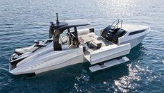 Wider 42, un power-boat innovant.