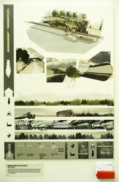 A selection of the boards from this years Landscape Architecture degree show in June.