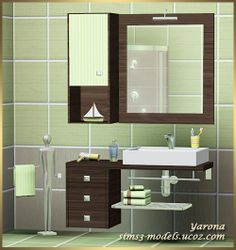 Sims 3 Finds - Bathroom Set by Yarona at Sims 3 Models